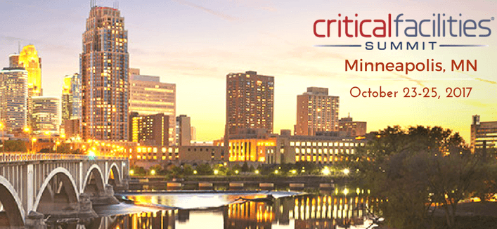 OneEvent Exhibiting at Critical Facilities Summit Oct. 23-25